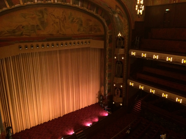 The Tuschinski, after a marathon of movies